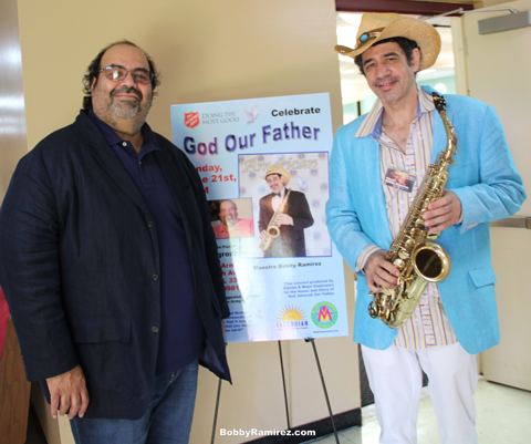 6-21-2015 - Celebrate God Our Father Jazz Concert Miami Jazz - On this Father's Day, Maestro Bobby Ramirez and Grammy nominee pianist Jose Negroni performing at the Salvation Army of Hialeah #HonorYourFather